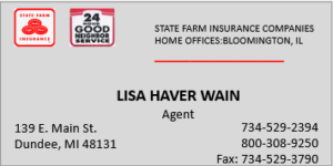 State Farm Lisa Wain