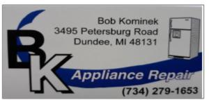 BK Applicance Repair